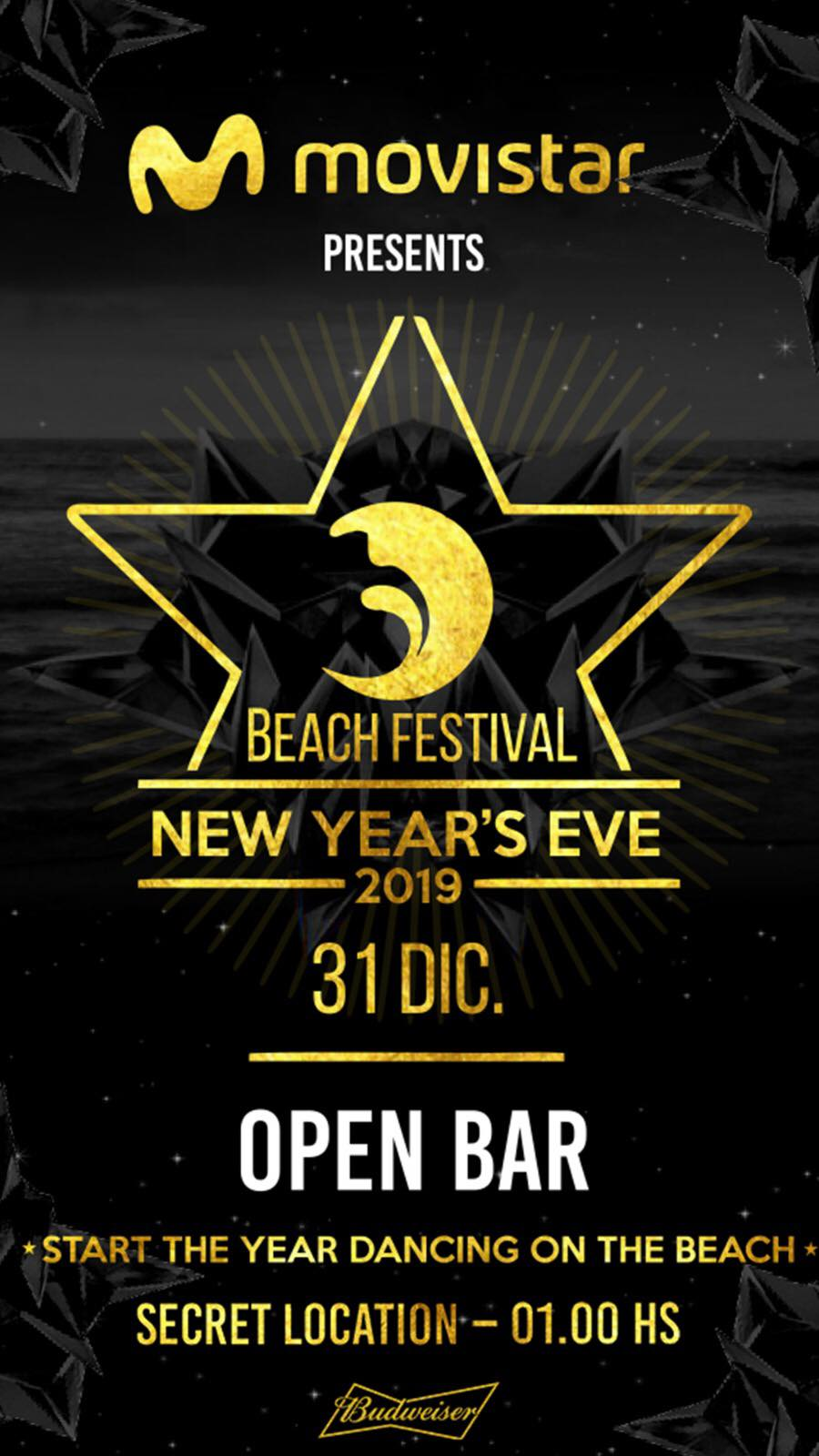 MOVISTAR NYE Beach Festival 2019
