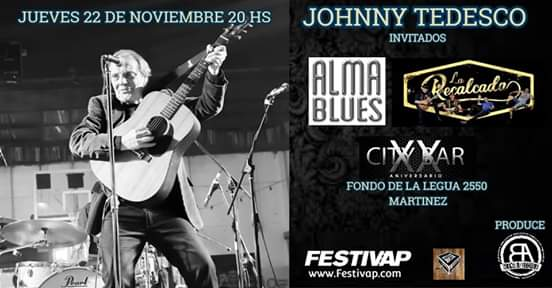 Johnny Tedesco Jueves de Buena la Actitud City Bar