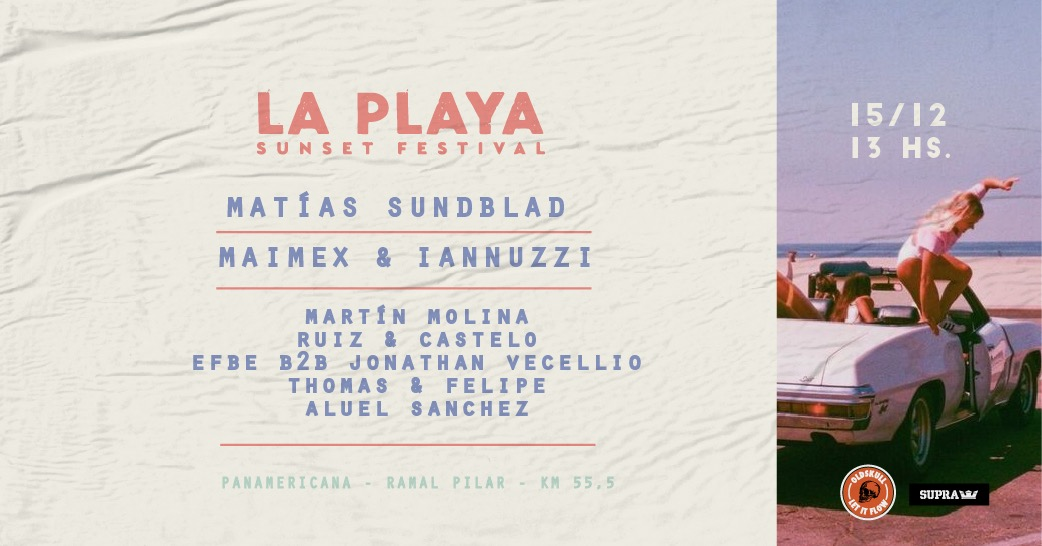 LA PLAYA Festival at Old Skull Park