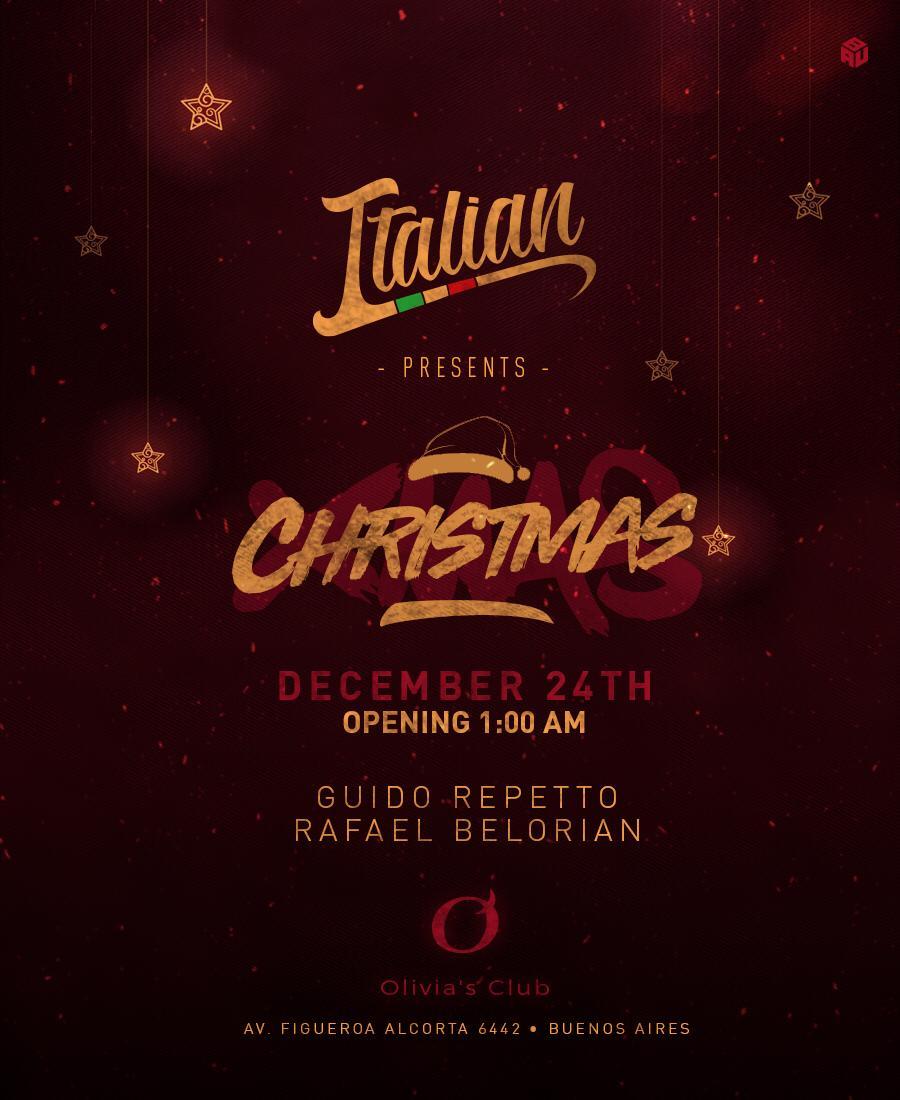 ITALIAN CHRISTMAS OLIVIAS CLUB