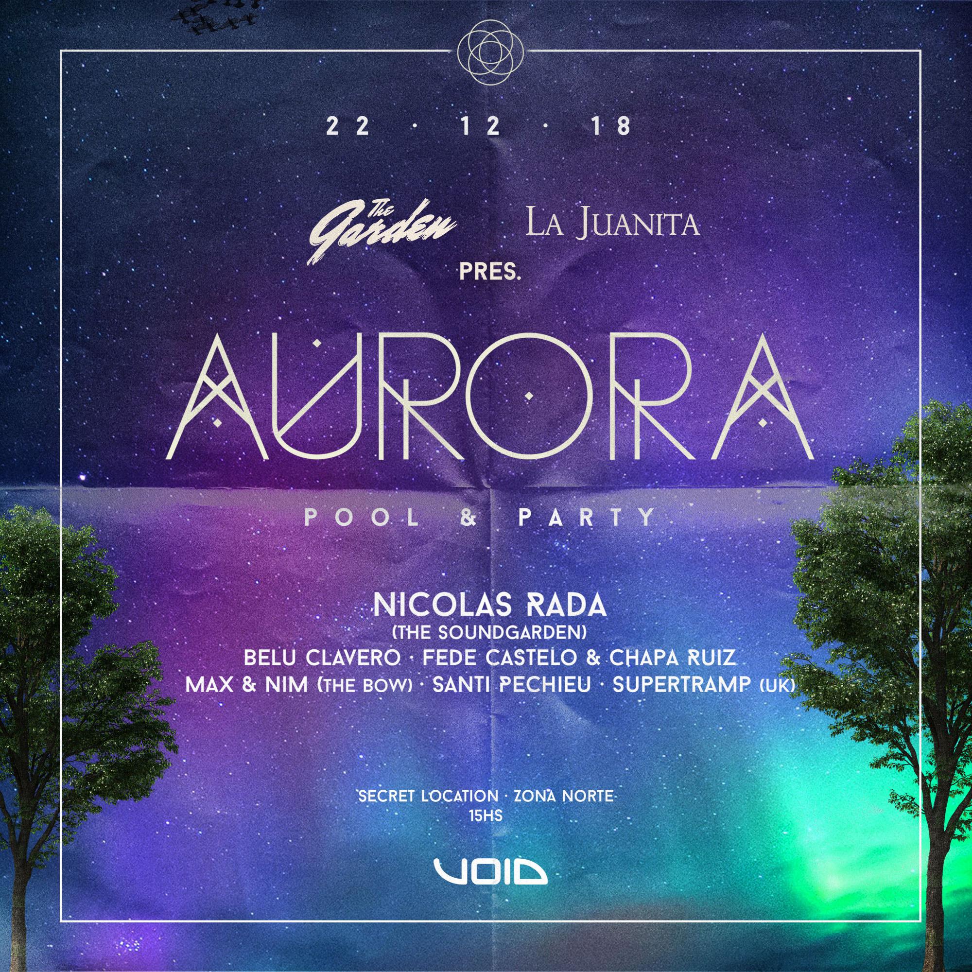 AURORA POOLPARTY La Juanita & The Garden