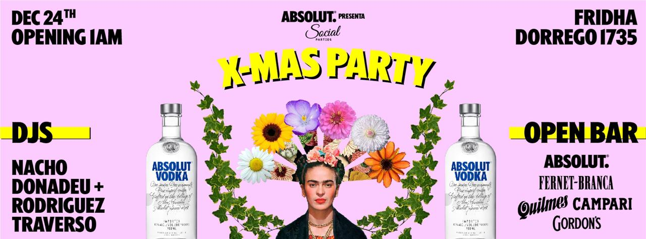 ABSOLUT Pres. X-MAS SOCIAL Party
