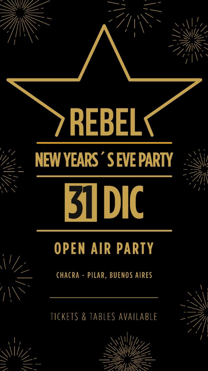 REBEL NEW YEAR's EVE - PILAR