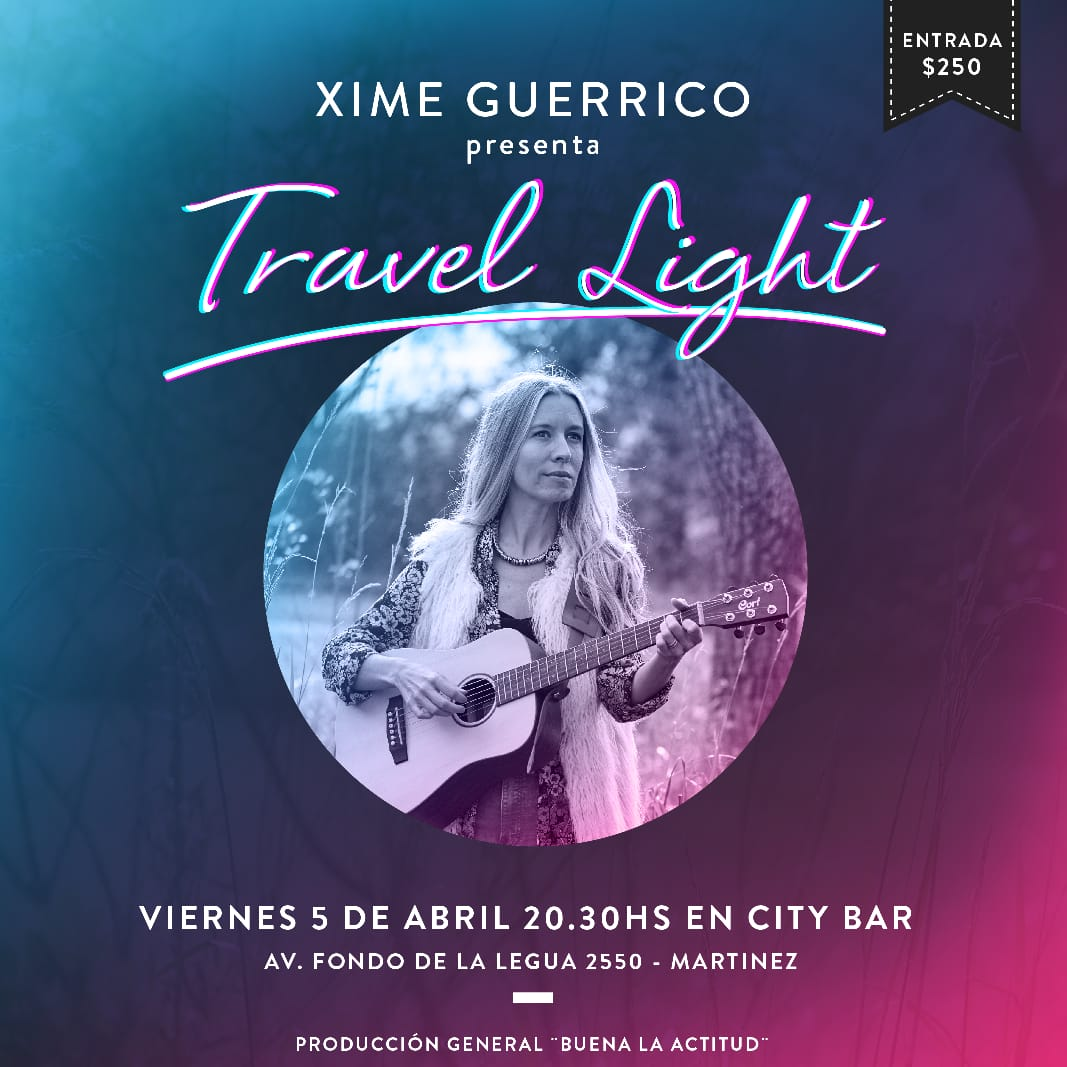 Xime Guerrico presenta