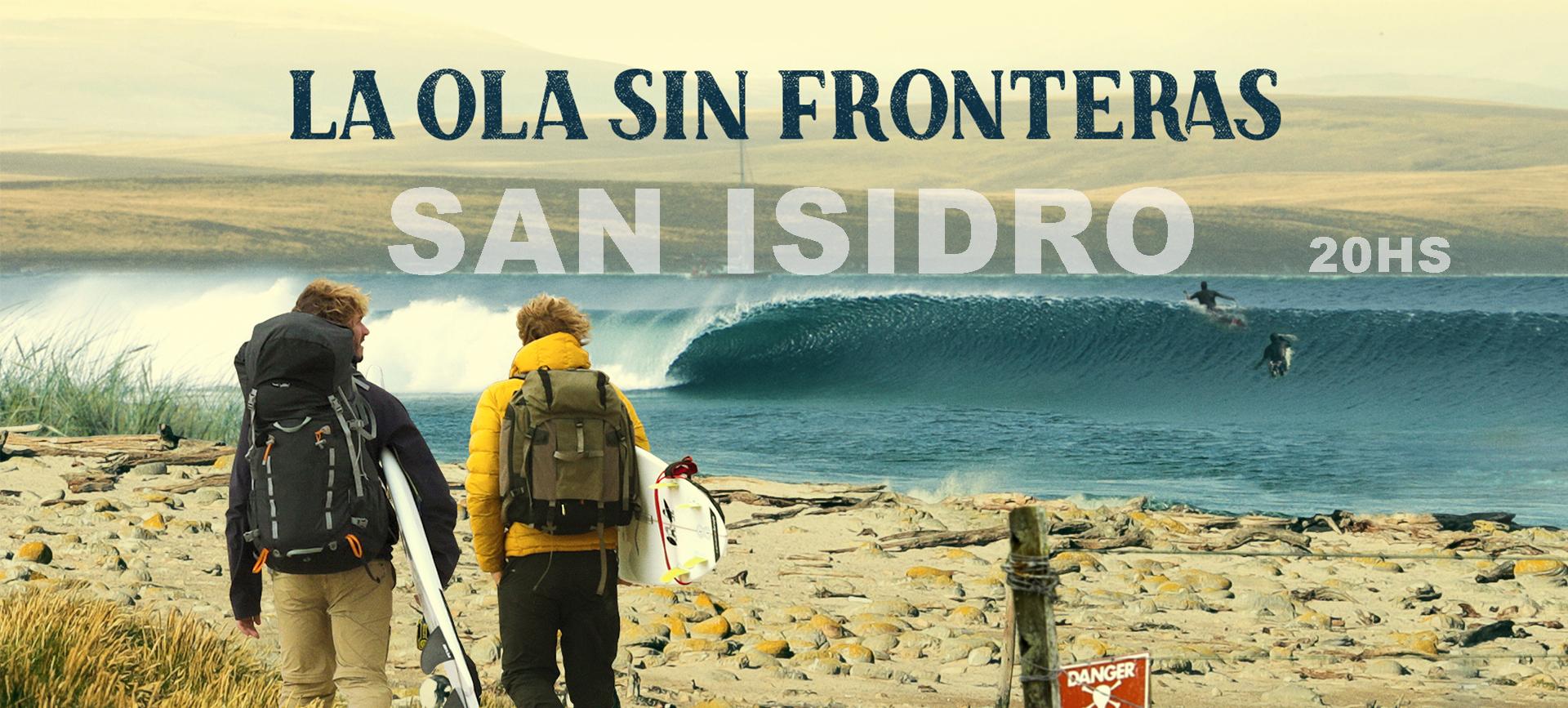 LA OLA SIN FRONTERAS - San Isidro