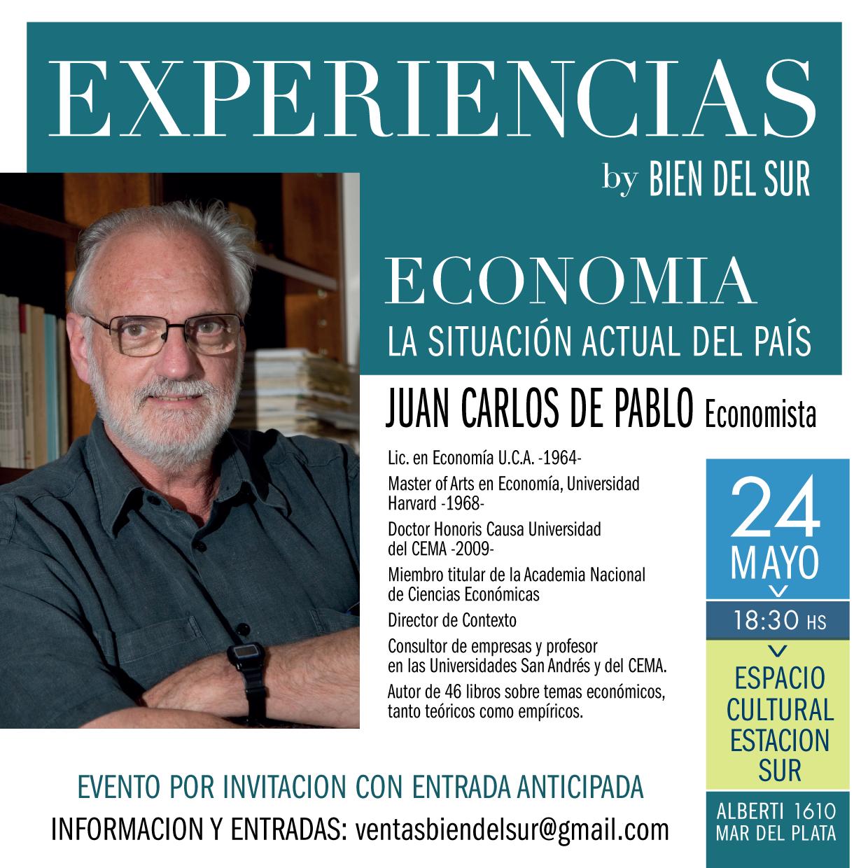 Juan Carlo de Pablo  . La situación actual del País    Experiencias By BIEN DEL SUR ,