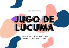 Jugo de Lúcuma