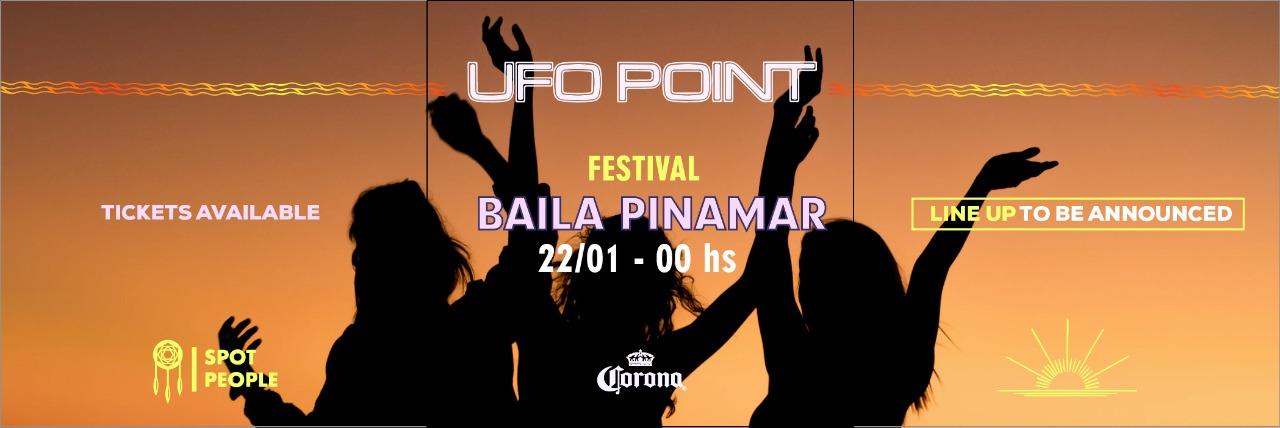 Baila Pinamar en UFO POINT
