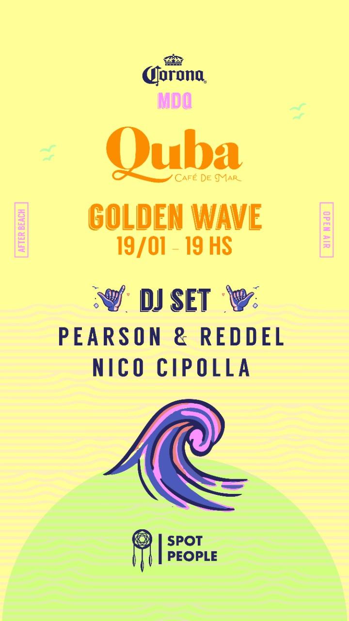 Golden Wave AFTER BEACH Corona by Spot