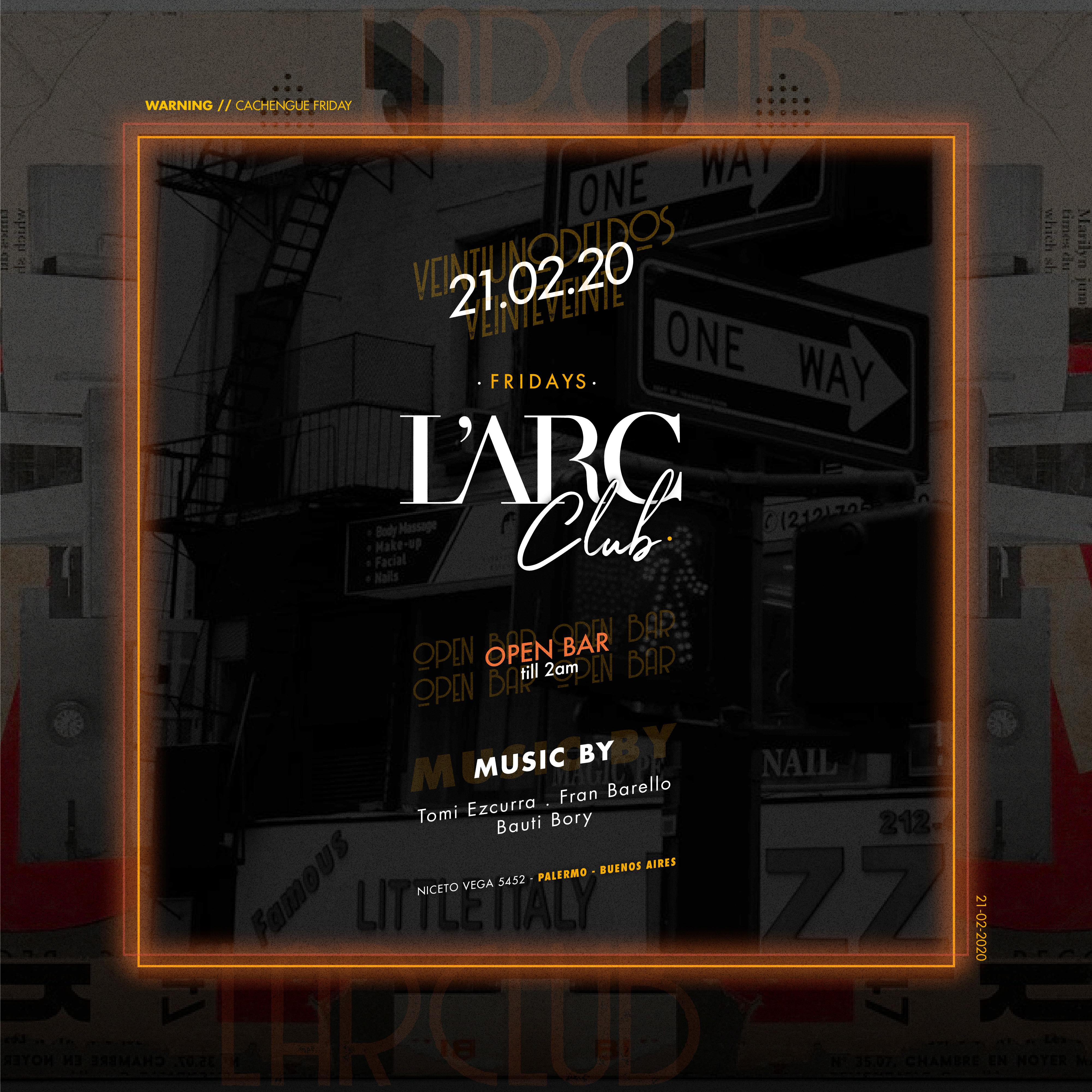 L'arc Club Viernes - 21.02